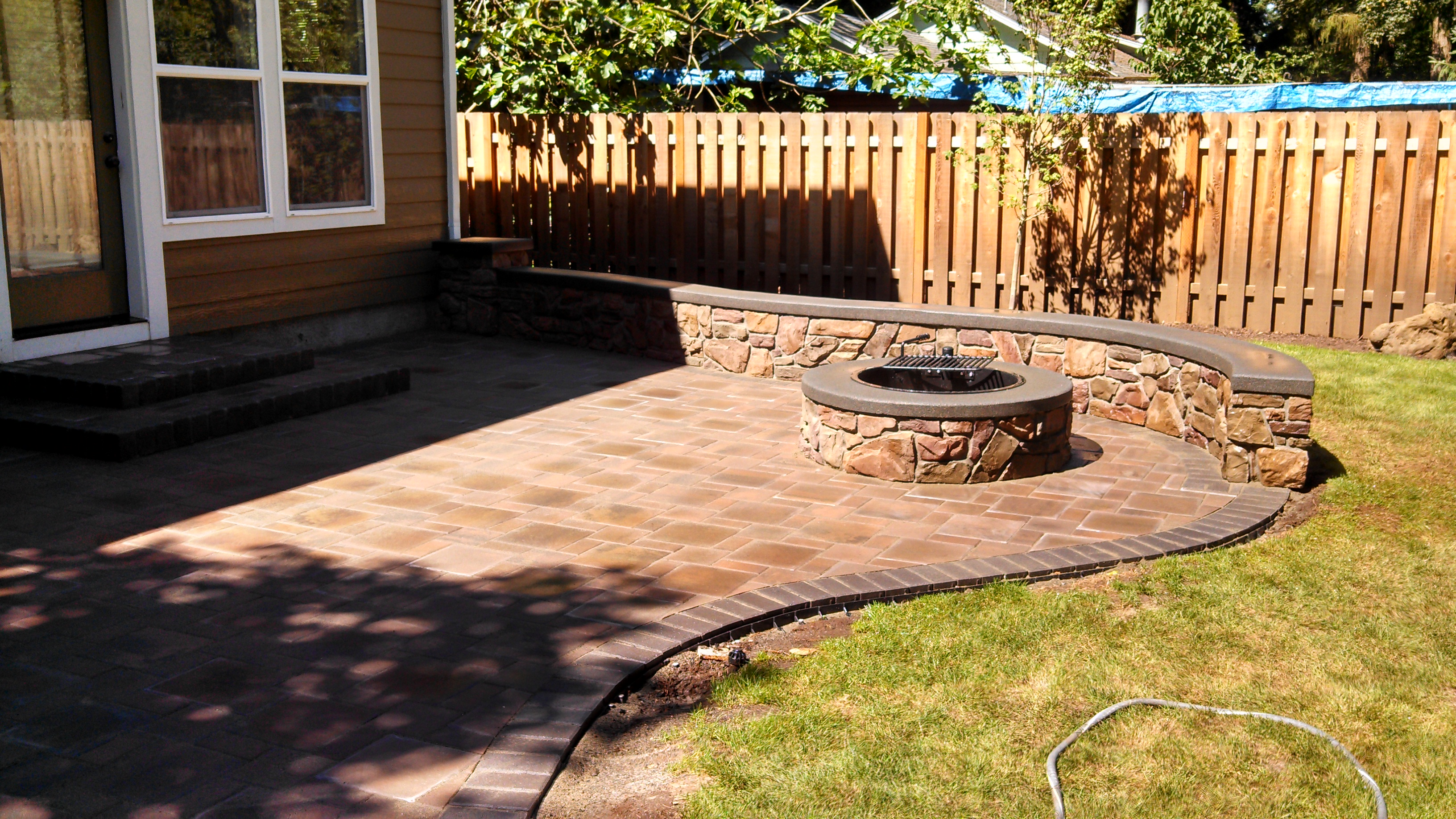 concrete paver contractor on Brick Paver Patio Designs id=31491