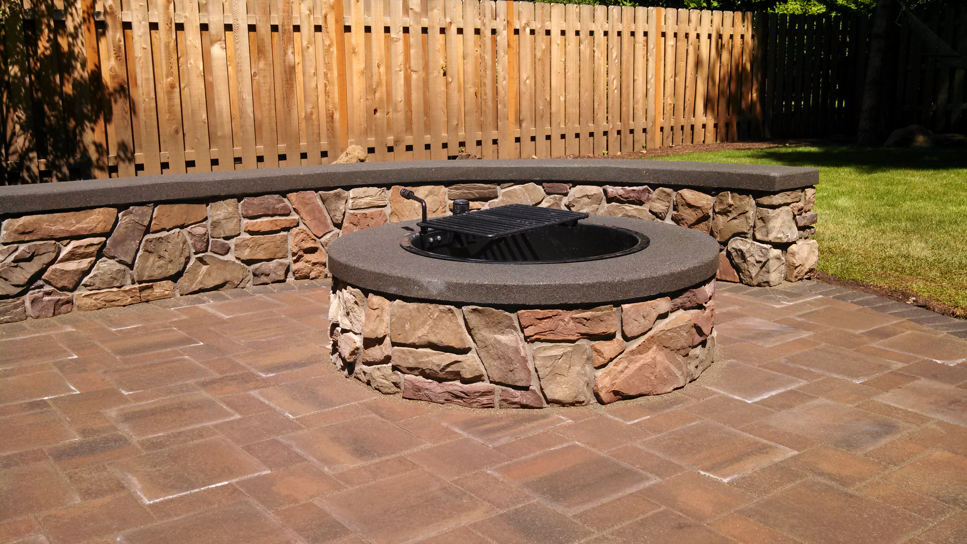 by simple and visit of on pebbles large make gray for easy pieces pavers paths more see pacific impact posts art photograph a landscape palisades patio gardenista mark above pergola tessier stones architect dramatic garden this bluestone gravel stepping dining