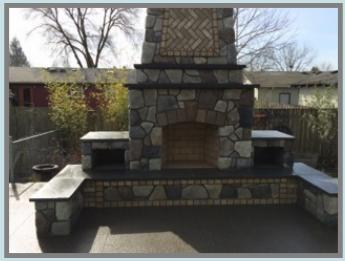 Customer S Review On Their Outdoor Fireplace