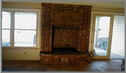 indoor fireplace hearth